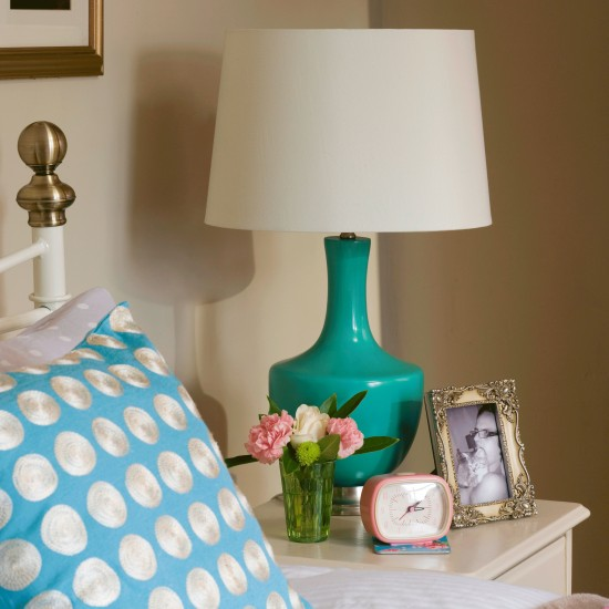 Bedroom Corner With Bedside Table