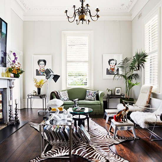 Living room | Be inspired by this eclectic and quirky villa in Melbourne | House tour | PHOTO GALLERY | Livingetc | Housetohome.co.uk