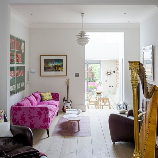 Sitting Area Step Inside This Relaxed Four storey Victorian Terrace