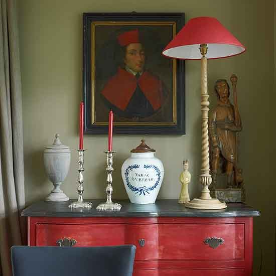 Dining room sideboard | Rural Flemish home | House tour | PHOTO GALLERY | Homes & Gardens | Housetohome.co.uk