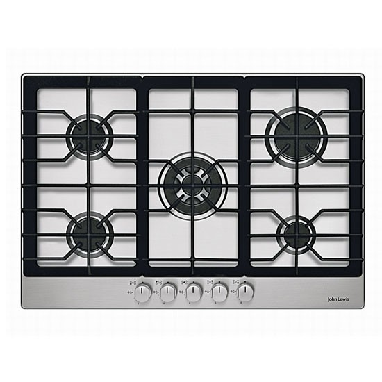 John Lewis Kitchen Worktops: JLBIGH753 Gas Hob From John Lewis