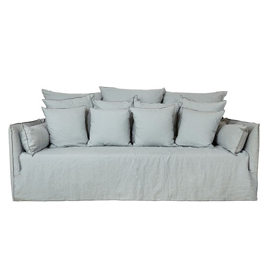 ghost sofa in lino biancho from the conran shop modern