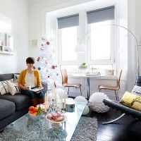 Take a tour of Morag's contemporary-style flat in Edinburgh