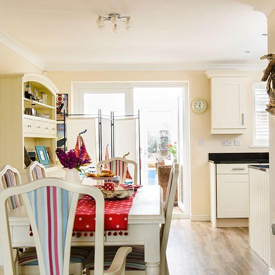 Nautical Home Decor Uk: Cream Dining Area With Nautical Theme