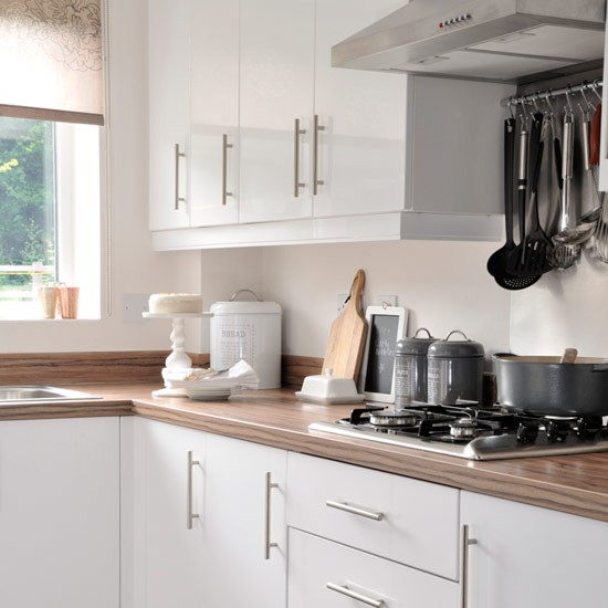 White Gloss Kitchen Wood Worktop: Take A Tour Around Angela's New-build In Herefordshire