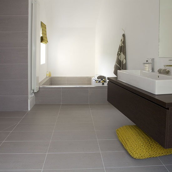 Porcelain flooring bathroom flooring for Bathroom floor ideas uk