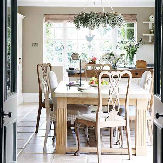 Kitchen diner | Herfordshire barn conversion | House tour | PHOTO GALLERY | Country Homes & Interiors | Housetohome.co.uk
