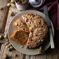 Kentish cobnut cake