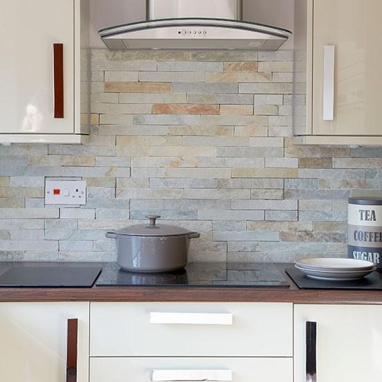 Curved bathroom units - Hi Gloss Cream Kitchen Kitchen Decorating Housetohome