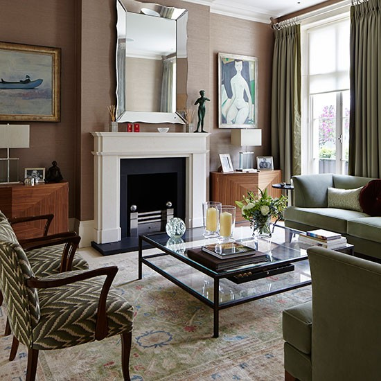 Living Room Take A Tour Around This Stylish London Home Housetohomecouk