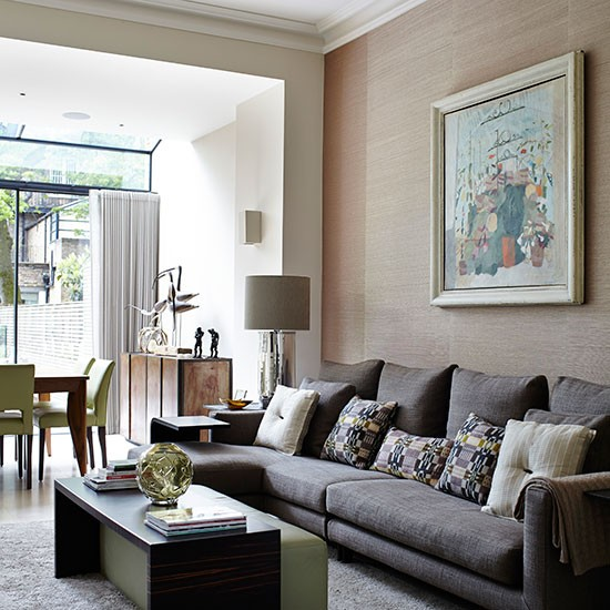 Living room sofa Take a tour around this stylish London