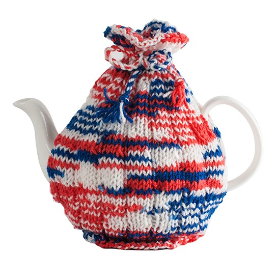 Knit your own tea cosy kit from getting personal for Gift ideas for craft lovers