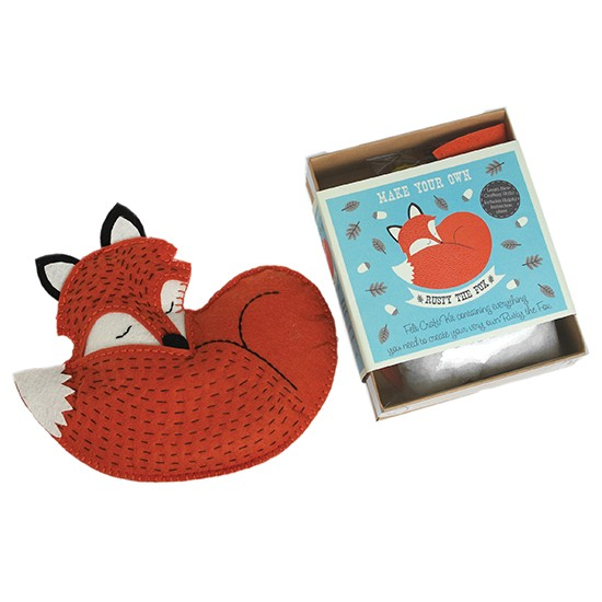 Make your own rusty the fox from dotcomgiftshop for Gift ideas for craft lovers