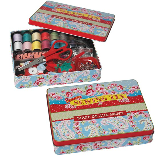 Paisley park deluxe sewing kit from dotcomgiftshop for Gift ideas for craft lovers