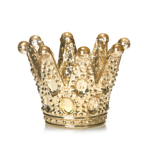 script collection champagne crown candle holder from. Black Bedroom Furniture Sets. Home Design Ideas