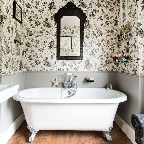 Bathroom | Detached Edwardian home in Worcestershire | House tour | PHOTO GALLERY | 25 Beautiful Homes | Housetohome.co.uk
