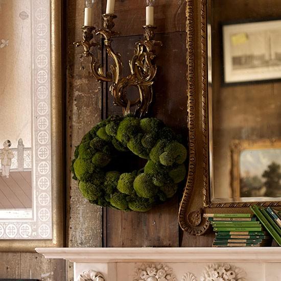 Christmas mantelpiece and fireplace ideas