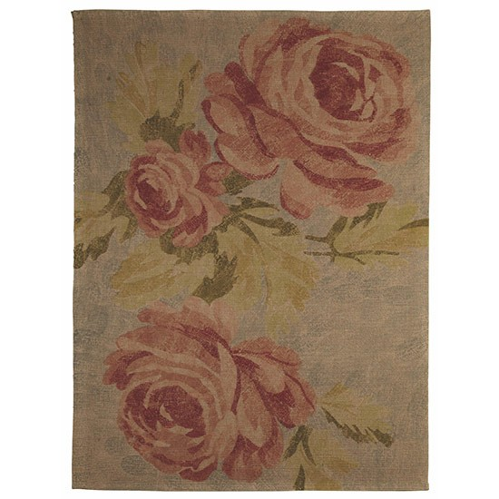 Colours Sadie Vintage Rose Rug From BampQ Country style