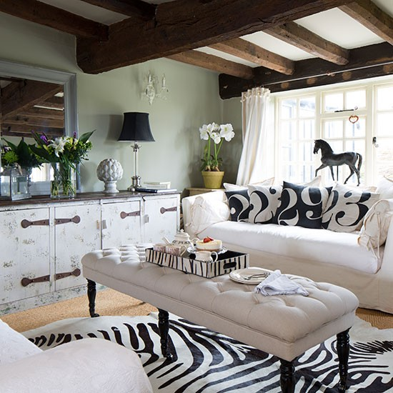animal print rug how rugs can revitalise living rooms living room