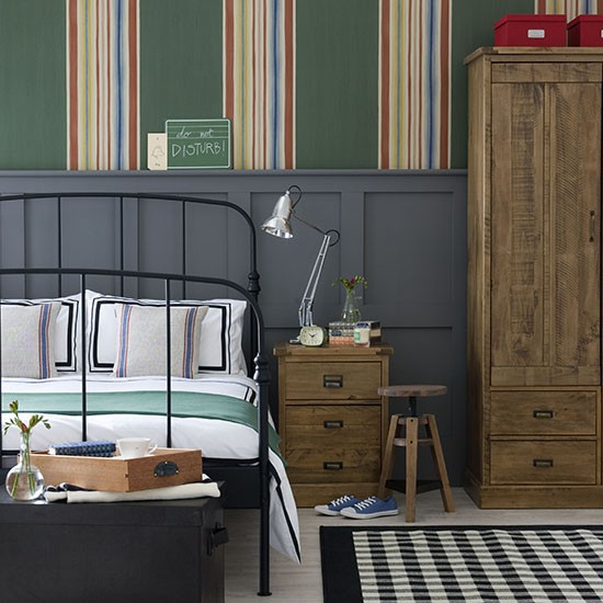 Boy's grown-up bedroom | Teenage boy's bedroom ideas ...