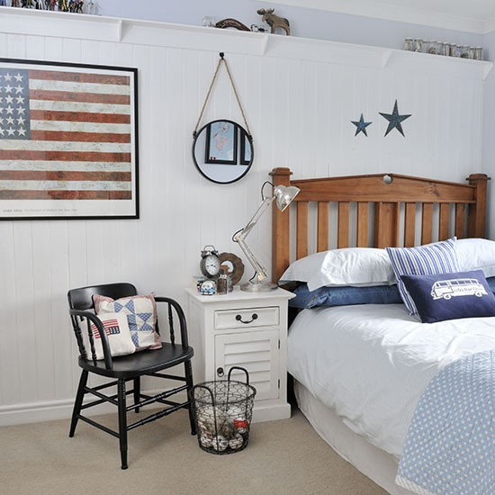 Nautical Style Teen And Bedrooms: Cool Coastal-style Teenager's Bedroom