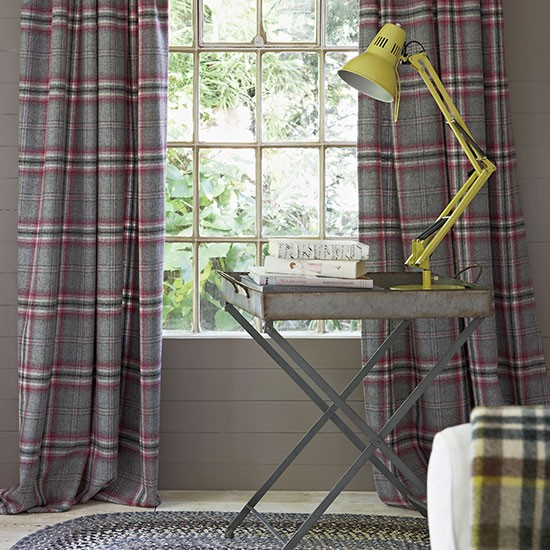 Snug curtains | Winter decorating | housetohome.co.uk