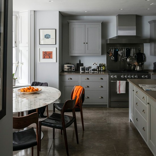 Kitchen Diner Step Inside A Luxe Georgian Townhouse In