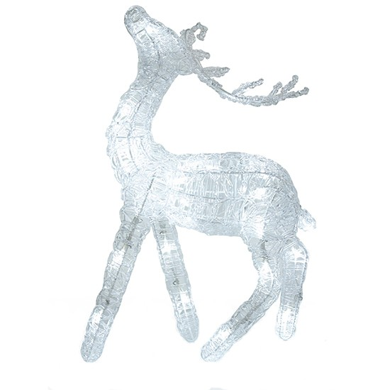 Lit indoor reindeer decoration from laura ashley indoor for Christmas deer decorations indoor