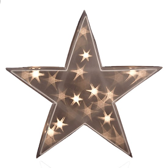 Outside Christmas Lights John Lewis: Holographic Indoor Christmas Star From John Lewis