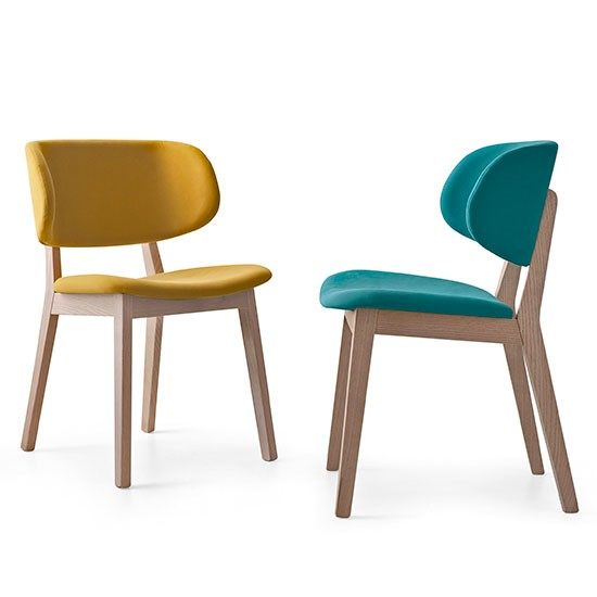 Claire dining chairs from calligaris dining room chairs for Dining room furniture uk