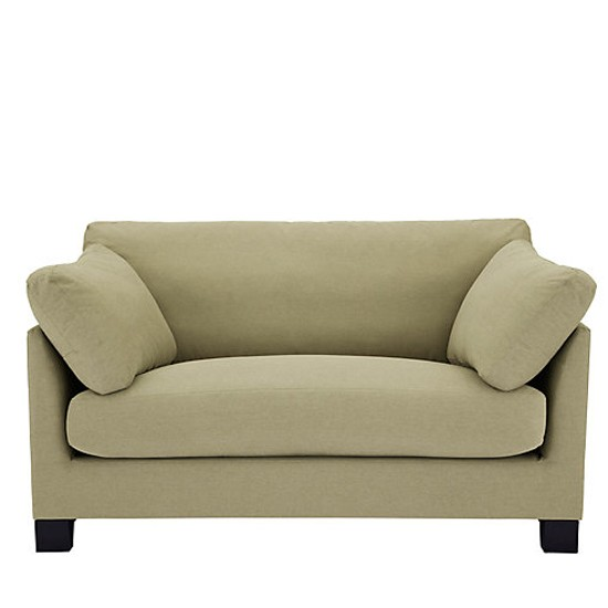 Ikon snuggler sofa from john lewis small sofas small for Small apartment sofa