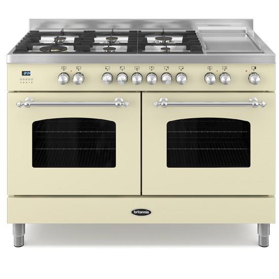 fleet dual fuel range cooker from britannia range. Black Bedroom Furniture Sets. Home Design Ideas