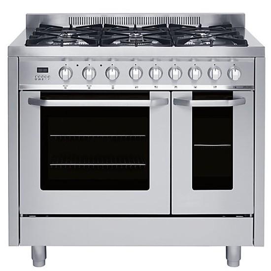 jlrcss104 dual fuel range cooker from john lewis range. Black Bedroom Furniture Sets. Home Design Ideas