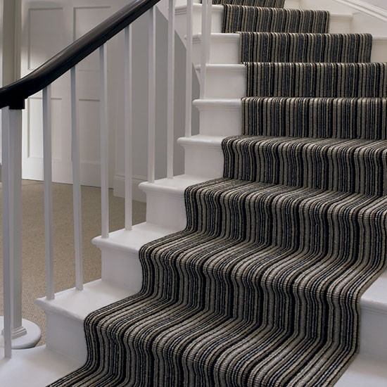 Mississippi Stripe Stair Runner From Crucial Trading