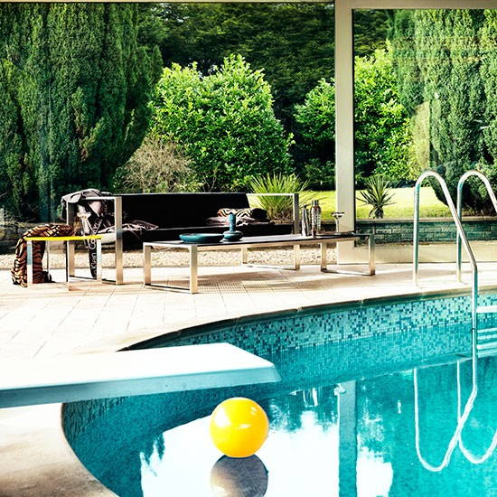Housetohome Co Uk: Sophisticated Poolside Furniture