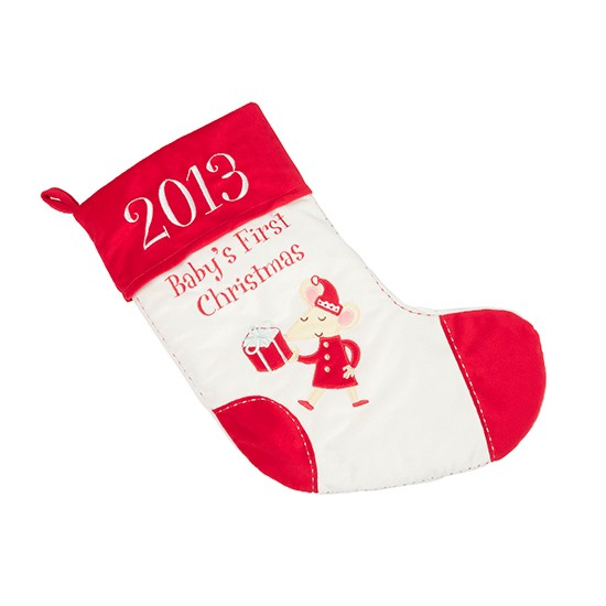 baby 39 s first christmas stocking from marks spencer. Black Bedroom Furniture Sets. Home Design Ideas