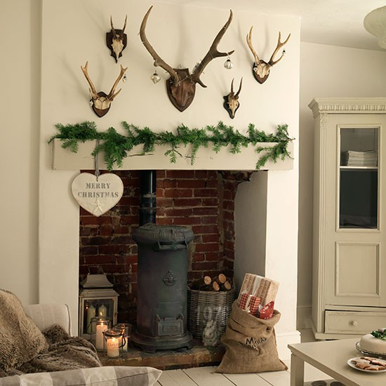 Living room fireplace | Georgian country house in Essex | House tour | PHOTO GALLERY | Ideal Home | Housetohome.co.uk