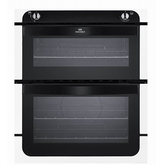 nw701g built in under double gas oven from new world. Black Bedroom Furniture Sets. Home Design Ideas