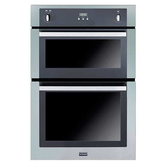 stoves sgb900ps built in double gas oven from john lewis. Black Bedroom Furniture Sets. Home Design Ideas