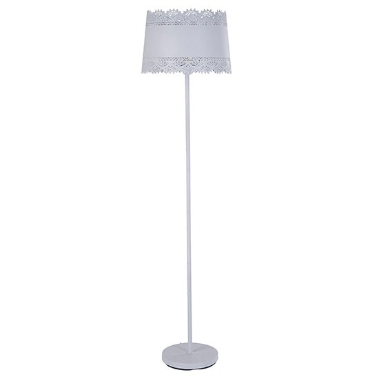 Lacey floor lamp from the french bedroom company country for Country chic bedroom floor lamp