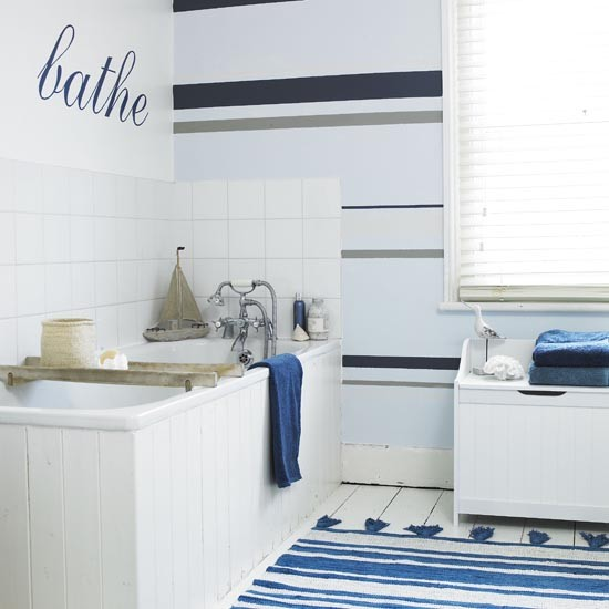 Nautical Themed Family Bathroom Family Bathroom Design Ideas