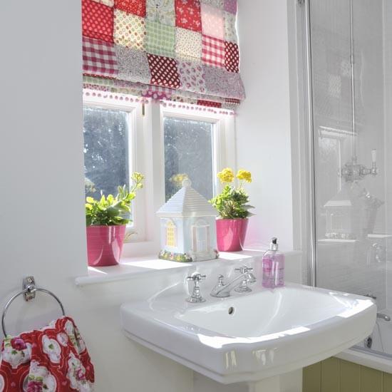Cheerful Country Family Bathroom Family Bathroom Design Ideas