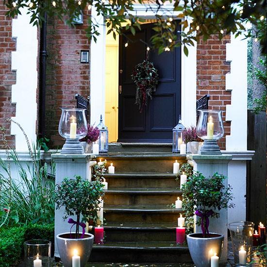 Front Door Steps Ideas uk Front Door Steps With Lighted
