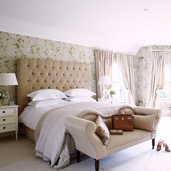 Hotel Luxe Bedroom Country Bedroom Design Ideas