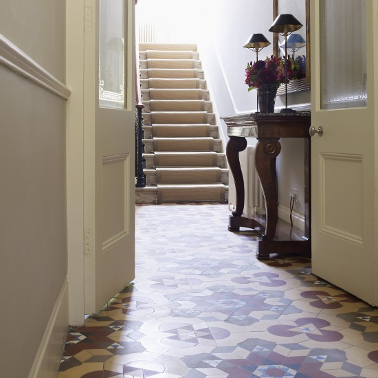 Hallway flooring ideas for Foyer flooring ideas