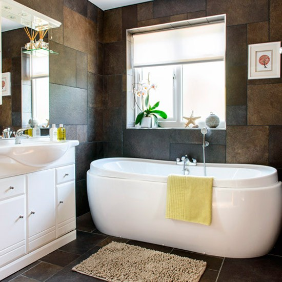 Modern bathroom house tour 1930s surrey semi for Bathroom ideas 1930s semi