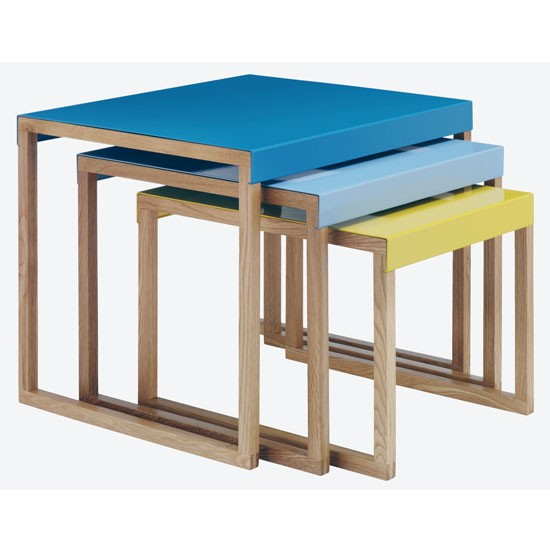 Kilo nest of tables by habitat for homebase nests of for Living room ideas homebase