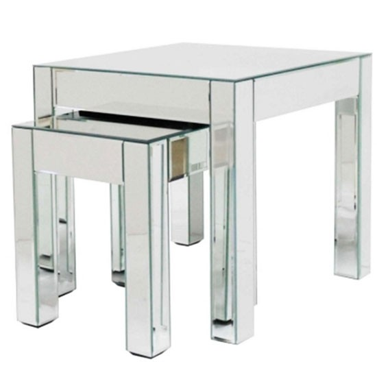 Mirrored Nest Of Tables From Debenhams