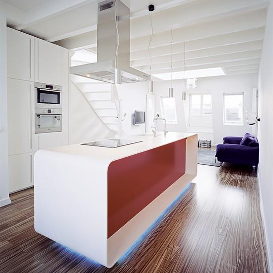 Island Units For Kitchens: Modern Designer Kitchen Island Unit