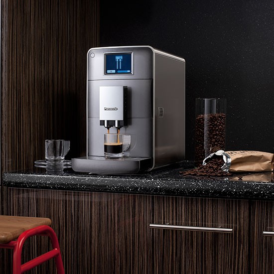 Panasonic Coffee Maker Nc Za1 : NC-ZA1 bean-to-cup espresso maker from Panasonic Coffee machines Shopping housetohome.co.uk